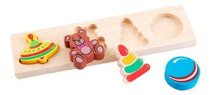 Деревянная игрушка для малышей Томик Игрушки