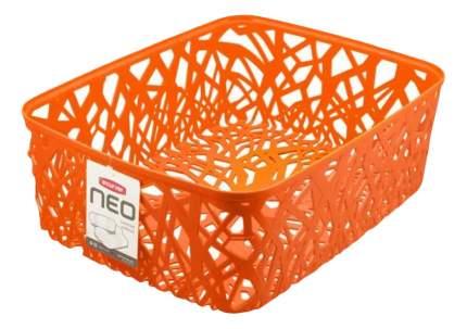 Корзина плетеная Curver Neo colors l оранжевая