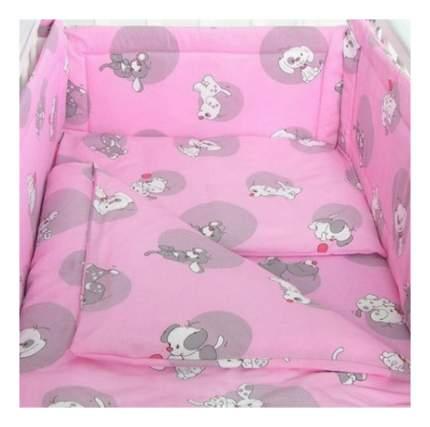 Наволочка на подушку Фея Наши друзья розовый