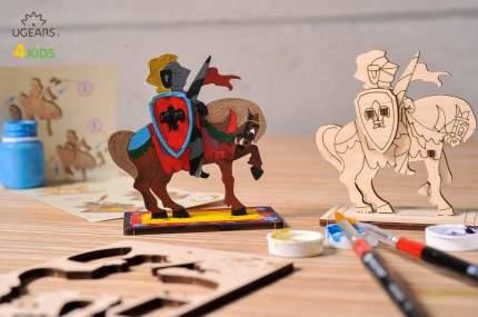 Конструктор-раскраска UGEARS Рыцарь