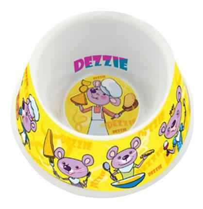 Одинарная миска для грызунов DEZZIE, пластик, разноцветный, 0.06 л