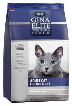 Сухой корм для кошек Gina Elite, цыпленок, рис, 1кг