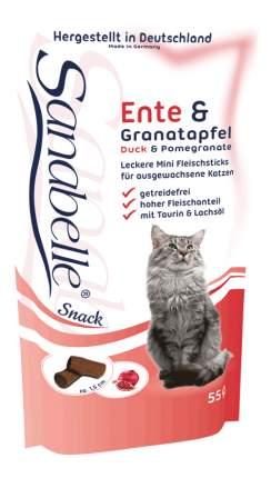 Лакомство для кошек Bosch Sanabelle Snack, утка, гранат, 0,055кг