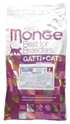 Сухой корм для кошек Monge Sensitive, при чувствительном пищеварении, курица, 10кг
