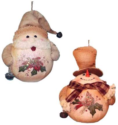 Елочная игрушка Winter Wings Новогодний персонаж 15 см, в ассортименте