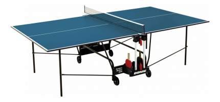 Теннисный стол Donic Indoor Roller 400 синий, с сеткой