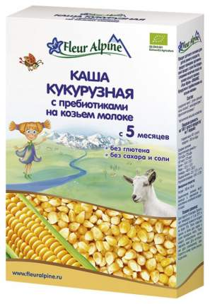 Молочная каша Fleur Alpine Кукурузная с пребиотиками на козьем молоке с 5 мес 200 г