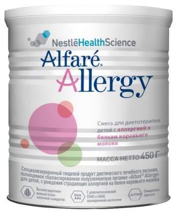 Молочная смесь Alfare Allergy от 0 до 6 мес. 450 г