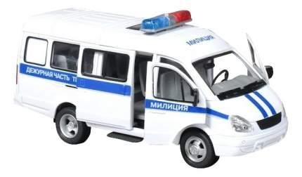 Машинка инерционная автопарк микроавтобус свет звук Play Smart 9098-D