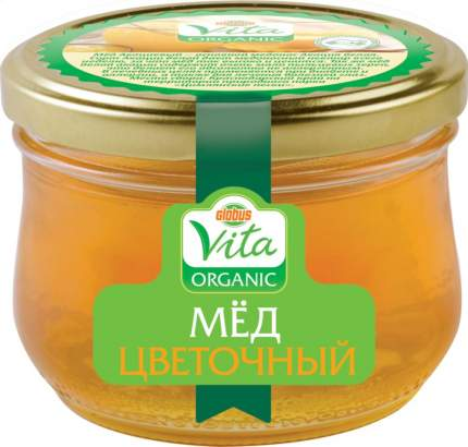 Мед цветочный Глобус Вита оrganic 270 г
