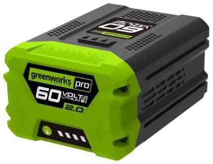 Li-Ion аккумулятор Greenworks Pro 60V Max-Volt 2Ah