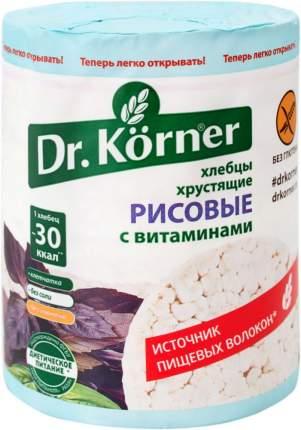 Хлебцы хрустящие Dr.Kоrner рисовые с витаминами 100 г