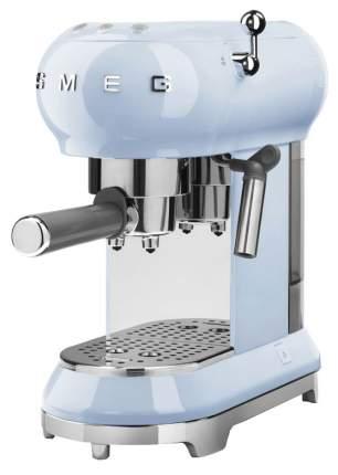 Рожковая кофеварка Smeg ECF01PBEU Blue