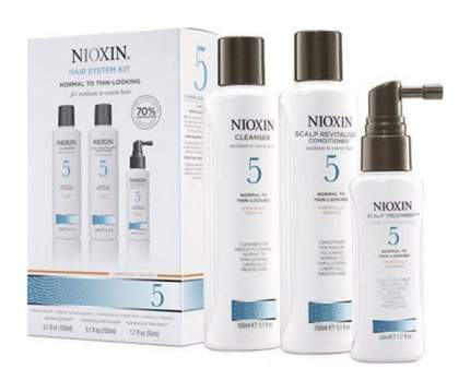Подарочный набор Nioxin System 5 150 мл+150 мл+50 мл