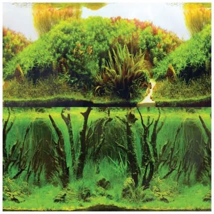 Фон для аквариума Laguna 9084/9085 Зеленые холмы/Подводный лес 722 г размер 40х1500 см