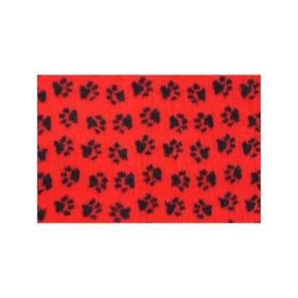 Коврик для кошек и собак ProFleece Ltd полиэстер, красный, черный, 160x100 см
