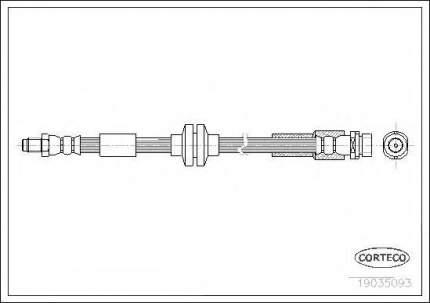 Шланг тормозной системы Corteco 19035093