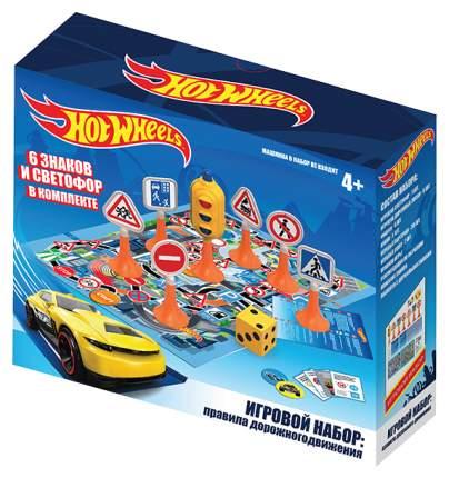 Игровой набор Нордпласт Hot Wheels: Правила дорожного движения Дорога без опасности