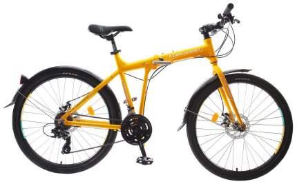 "Велосипед Forward Tracer 2.0 Disc 2018 19"" желтый"