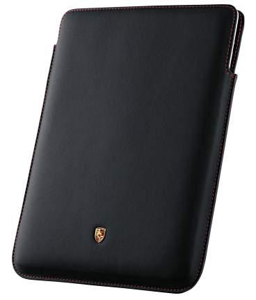 Кожаный чехол для iPad 23 Porsche Case for iPad 2 and 3 WAP0300140E Black
