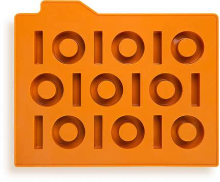 Форма для льда «Бинариус» (оранжевый)