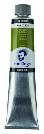 Масляная краска Royal Talens Van Gogh №620 зеленый оливковый 200 мл