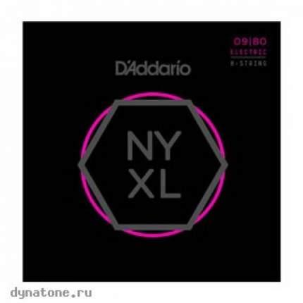 Струны для электрогитары D ADDARIO NYXL0980
