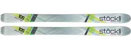 Горные лыжи Stockli Stormrider 105 + Warden MNC 13 2019, grey, 177 см
