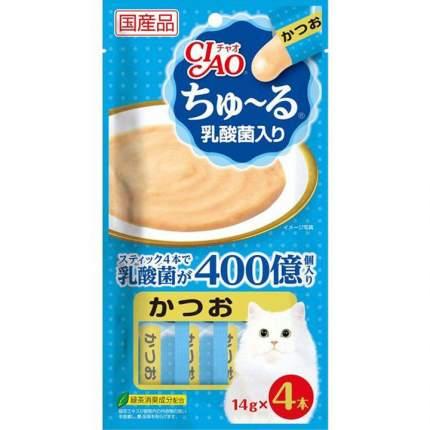 Лакомство для кошек Japan Premium Pet, соус, для здорового пищеварения, тунец, 70г