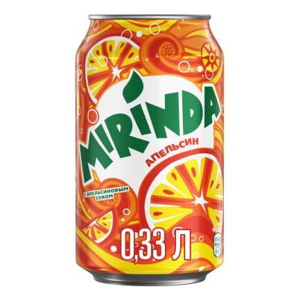 Напиток Mirinda апельсин жестяная банка 0.33 л