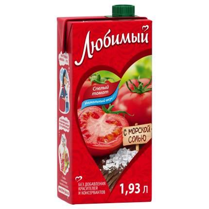 Нектар Любимый спелый томат с морской солью 1.93 л