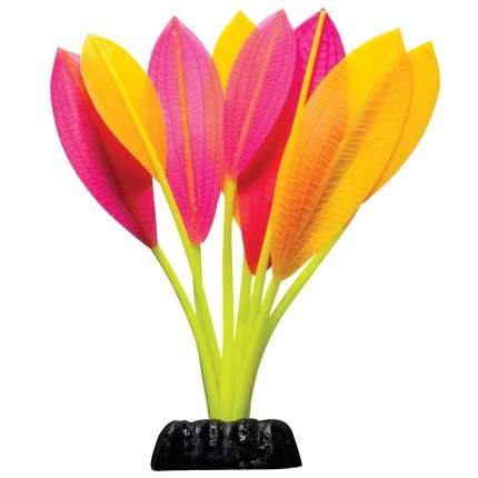 Растение силиконовое для аквариума Laguna, светящееся, 6x18 см