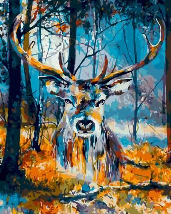 """Набор для раскрашивания по номерам по дереву Фрея """"Таинственный лес"""", 40x50 см, арт. PKW-1"""