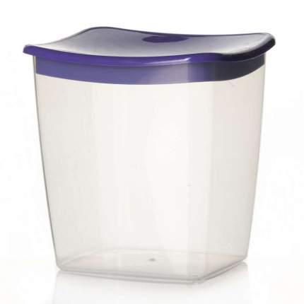 Емкость для сыпучих продуктов объем 1,0 л, цвет фиолетовый