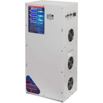Трехфазный стабилизатор Энерготех OPTIMUM+ 5000х3