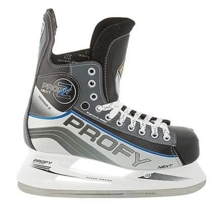 Коньки хоккейные Спортивная Коллекция Profy Next Z, черный, 46 RU