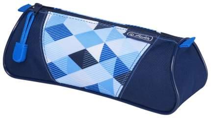 Пенал-косметичка Herlitz «Blue Cubes»
