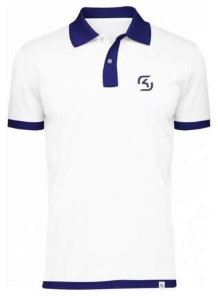 SK Gaming Polo Shirt White L