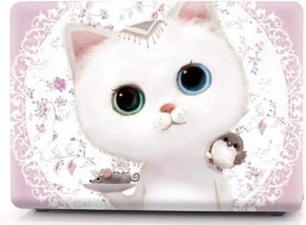 "Чехол для Macbook Pro 13"" i-Blason Cover A1706/A1708 cute kitten pink"