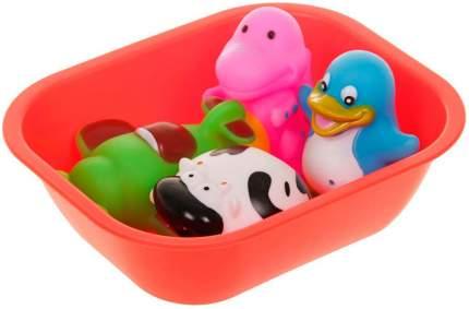 """Набор игрушек для ванны """"Веселое купание"""", 5 предметов Крошка Я"""