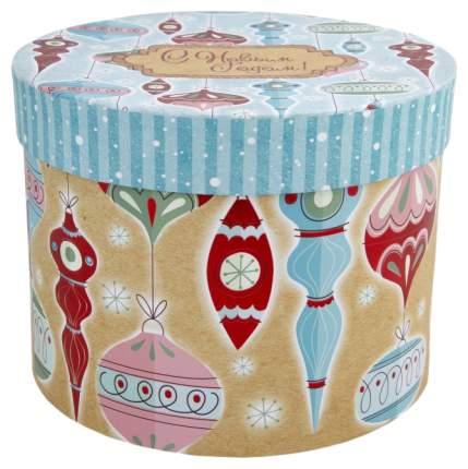 """Коробка подарочная """"Стеклянные сосульки"""", 16х16х12,5 см"""