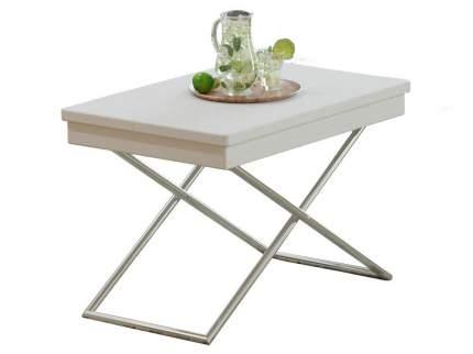 Журнальный столик Калифорния мебель  Стол универсальный трансформируемый Андрэ Белый