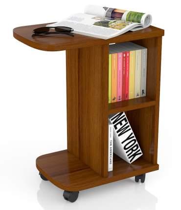 Журнальный столик Мебельный Двор МД-СЖ-3 47х30х60 см, орех