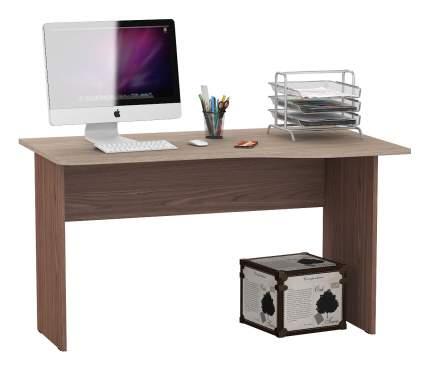 Письменный стол Мебельный Двор МД 1.04, ясень шимо светлый-тёмный