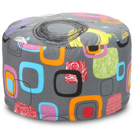 Кресло-мешок ПуффБери Мумбо, размер S, жаккард, разноцветный
