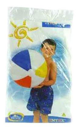 Мяч Intex разноцветный 51 см от 3лет