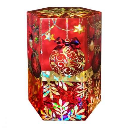 Чай ИМЧ шестиугольник сияние праздника красная 75 г