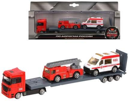 Набор машин Пламенный мотор Пожарная охрана
