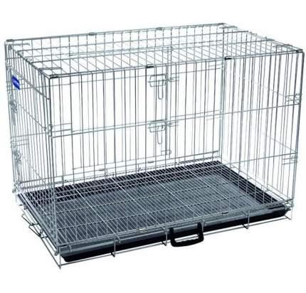 Клетка для собак Artero №3, металлическая с фальшдном, 76х47х54 см