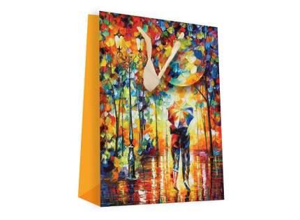 Пакет подарочный Белоснежка Двое под зонтом